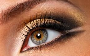глаз, макияж, ресницы