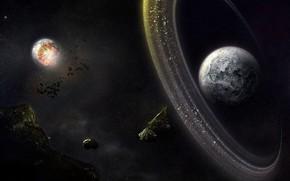 планеты, астероиды, пояс