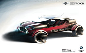 Mini, Biomoke, Car, machinery, cars