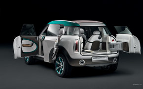 Mini, Crossover, Car, machinery, cars