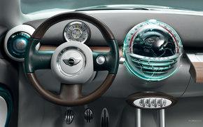 Mini, Crossover, авто, машины, автомобили