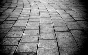 тротуар, плитка, щели