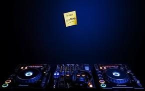 DJ, Cubiertas, azul