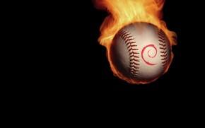 Ball, Feuer, Minimalismus