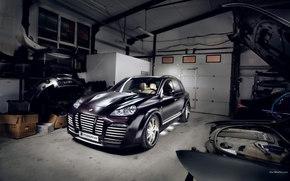 P., Cayenne, Car, machinery, cars