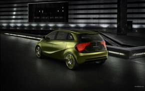 Mercedes-Benz, BlueZero, Coche, Maquinaria, coches