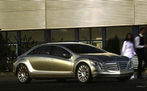 Mercedes-Benz, F700, Car, machinery, cars