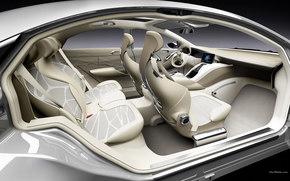 Mercedes-Benz, F800, Car, machinery, cars