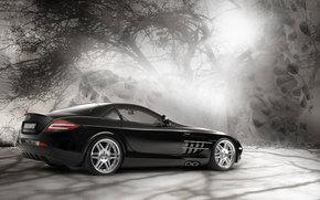 Mercedes-Benz, SLR, авто, машины, автомобили