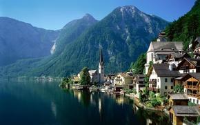 Austria, Hallstatt, fiume