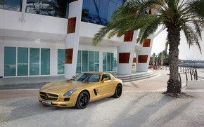 Mercedes-Benz, SLS, Coche, Maquinaria, coches