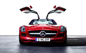 Mercedes-Benz, SLS, Car, machinery, cars