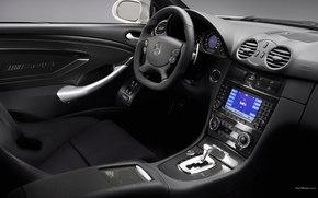 Mercedes-Benz, CLK-Class, Car, machinery, cars