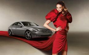 Mercedes-Benz, CLS-Class, Coche, Maquinaria, coches