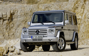 Mercedes-Benz, G-Class, Car, machinery, cars