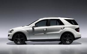 Mercedes-Benz, M-Class, Car, machinery, cars