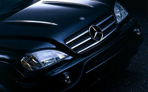 Mercedes-Benz, M-Class, Car, machinery, cars