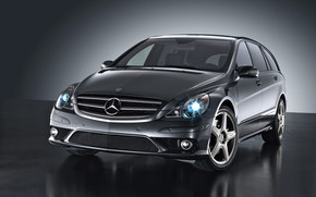 Mercedes-Benz, R-Class, Car, machinery, cars