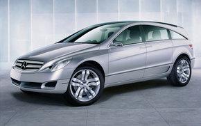 Mercedes-Benz, R-Class, Car, machinery, cars