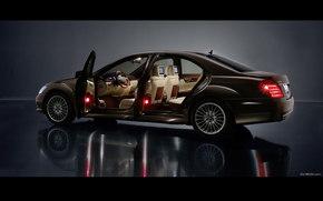 Mercedes-Benz, S-Class, Carro, maquinaria, carros