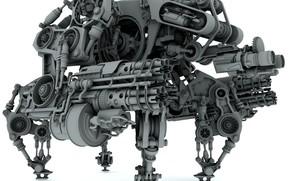 робот боевой, модель