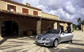 Mercedes-Benz, Classe SLK, Carro, maquinaria, carros