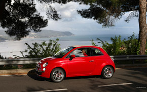 Fiat, 500, Car, machinery, cars