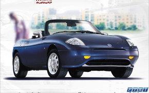 Fiat, Barchetta, Car, machinery, cars