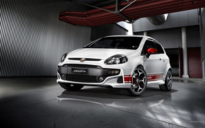 Fiat, Punto, Car, machinery, cars