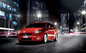 Fiat, Punto, Car, machinery, cars