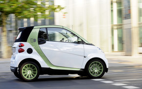 Smart, Fortwo, Car, machinery, cars