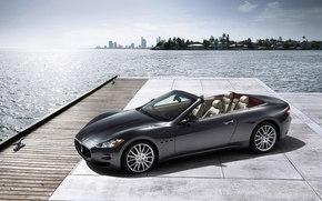 Maserati, GranCabrio, Car, machinery, cars