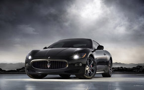 Maserati, GranTurismo, Car, machinery, cars
