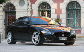 Maserati, Quattroporte, Car, machinery, cars
