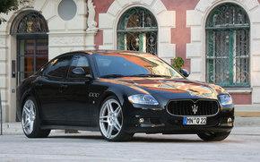 Maserati, Quattroporte, Car, machinery, cars