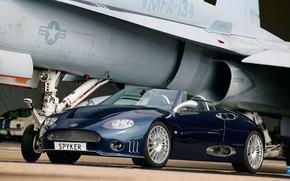 Spyker, C8, Auto, macchinario, auto