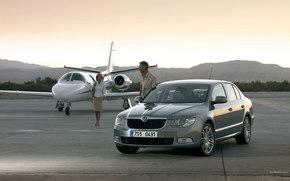 Skoda, Superb, авто, машины, автомобили