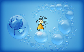 пузыри, человечки, минимализм