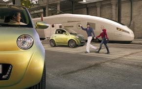 Rinspeed, UC, авто, машины, автомобили