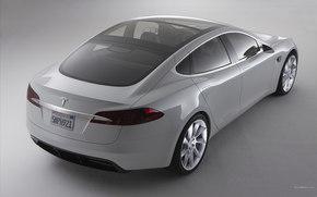 Tesla, Model S, авто, машины, автомобили