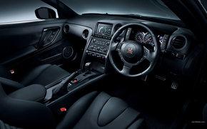 Nissan, GT-R, Car, machinery, cars