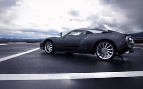 grigio, Auto, cielo
