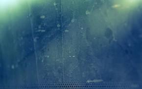 zamylennost, sale, boueux, bleu, mur