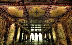 room, Facilities, mosaic, arch