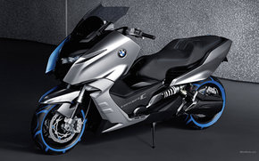 BMW, Concept, Concept C, Concept C 2010, мото, мотоциклы, moto, motorcycle, motorbike
