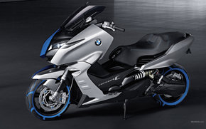 BMW, Scooter, Concept C, Concetto C 2010, Moto, motocicli, moto, motocicletta, motocicletta