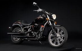 Kawasaki, Cruzador, VN900 personalizado, VN900 Personalizado 2009, Moto, Motocicletas, moto, motocicleta, motocicleta