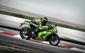 Kawasaki, Ninja, Ninja ZX-10R, Ninja ZX-10R 2011, мото, мотоциклы, moto, motorcycle, motorbike