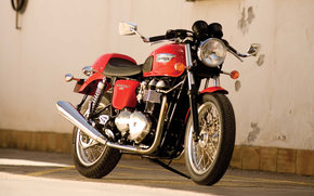 Triunfo, Modern Classic, Thruxton, Thruxton 2008, Moto, Motocicletas, moto, motocicleta, moto