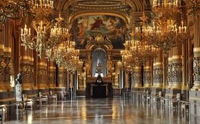 Palais Garnier, Opera Garnier, Parigi, oro
